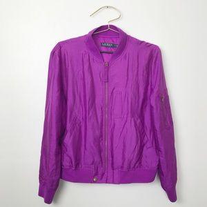 Ralph Lauren Purple Lightweight Jacket